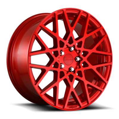 ROTIFORM BLQ 18x8.5 5x112 +45 66.5 Candy Red